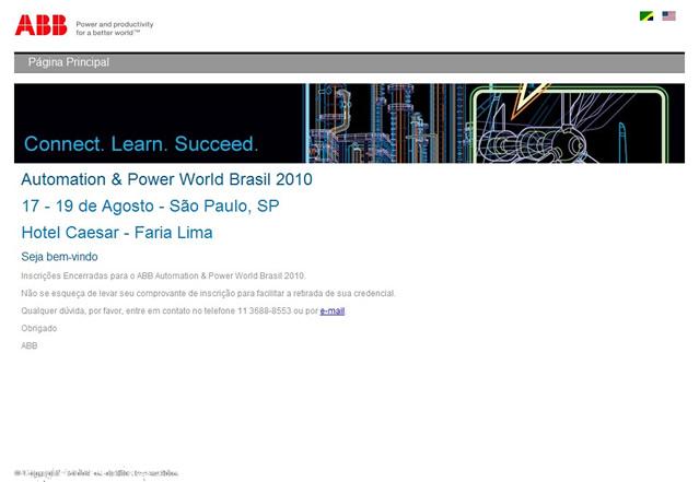 Projeto:  ABB Automation Power World