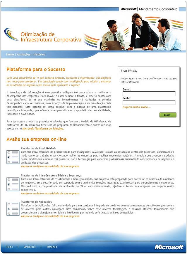 Projeto: Assessment Corporativo