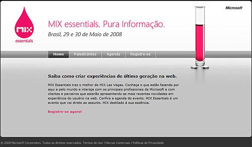 Projeto: Portal de Eventos: Mix Essentials