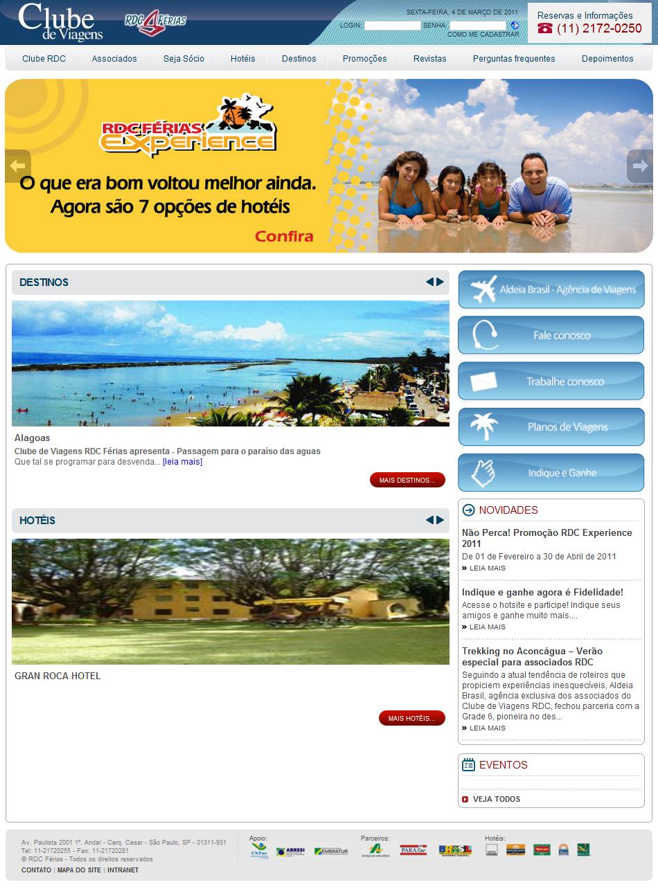 Projeto: Portal RDC-Férias